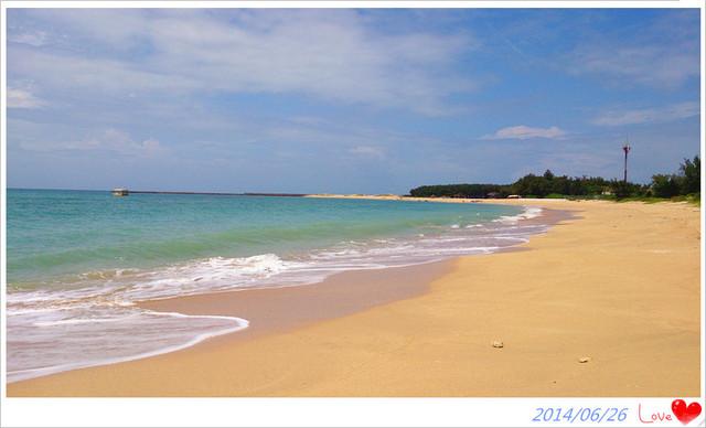 澎湖.湖西~愜意享受緊鄰美麗沙灘的「林投公園」