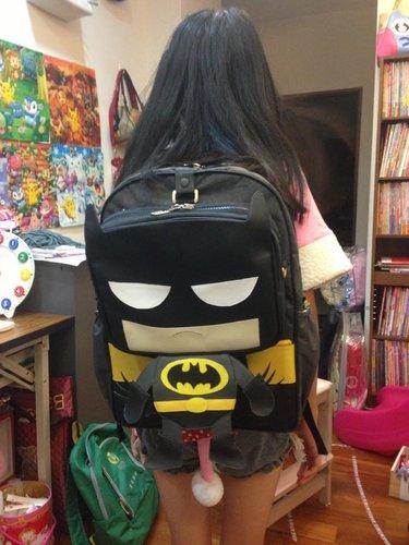 (卡通包再進化) 蝙蝠俠親子包