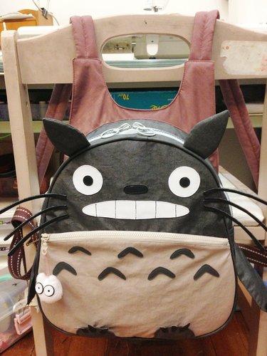 琪琪兒的龍貓後揹包